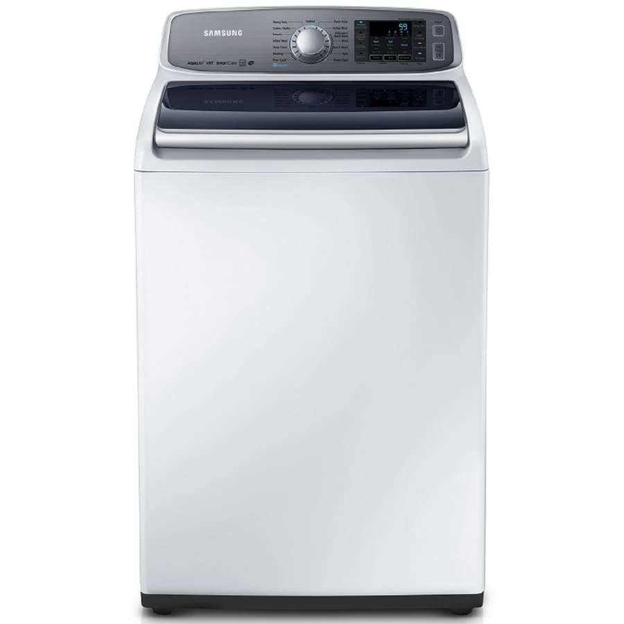 Samsung 5-cu ft High-Efficiency Top-Load Washer (White)