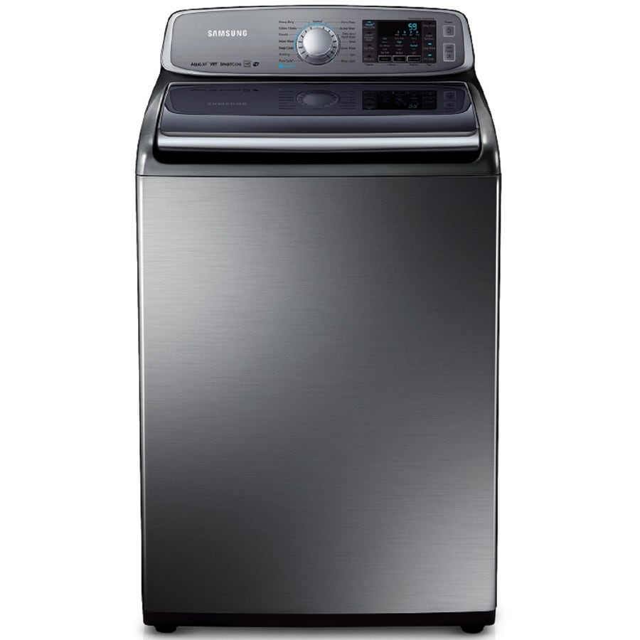 Samsung 5.0-cu ft High-Efficiency Top-Load Washer (Platinum)
