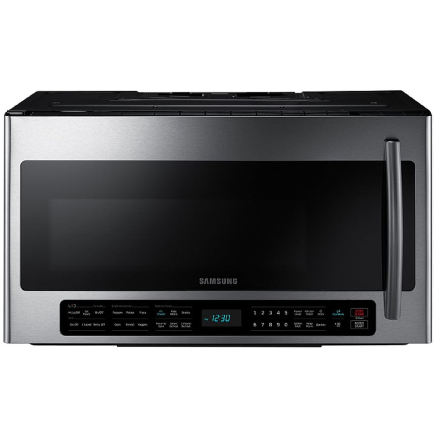 Samsung Microwaves Over Range: Shop Samsung 2.1-cu Ft Over-the-Range Microwave With