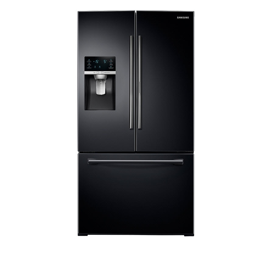 Samsung 27.8-cu ft French Door Refrigerator with Single Ice Maker and Door within Door (Black) ENERGY STAR
