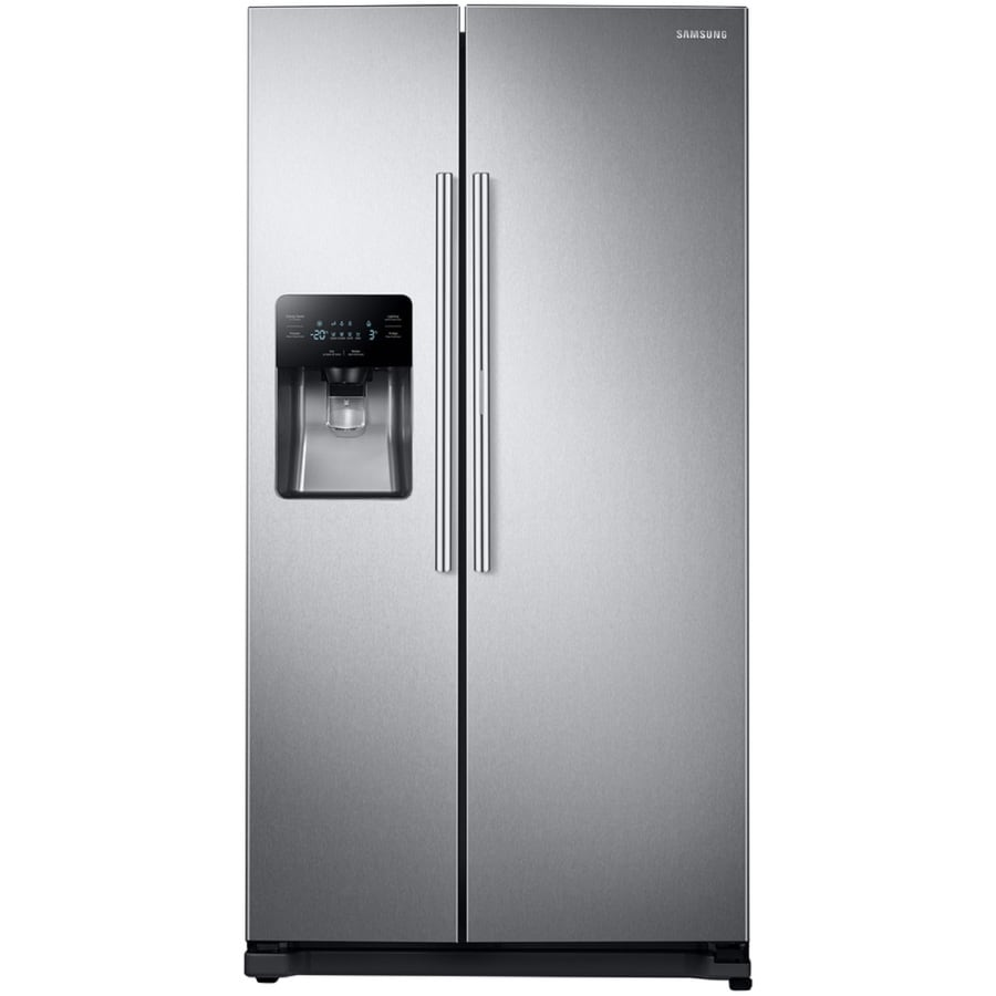 Samsung Food ShowCase 24.7 Cu Ft Side By Side Refrigerator With Ice Maker