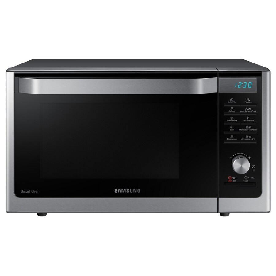 Samsung 1.1-cu ft 1,000-Watt Countertop Convection Microwave (Stainless)