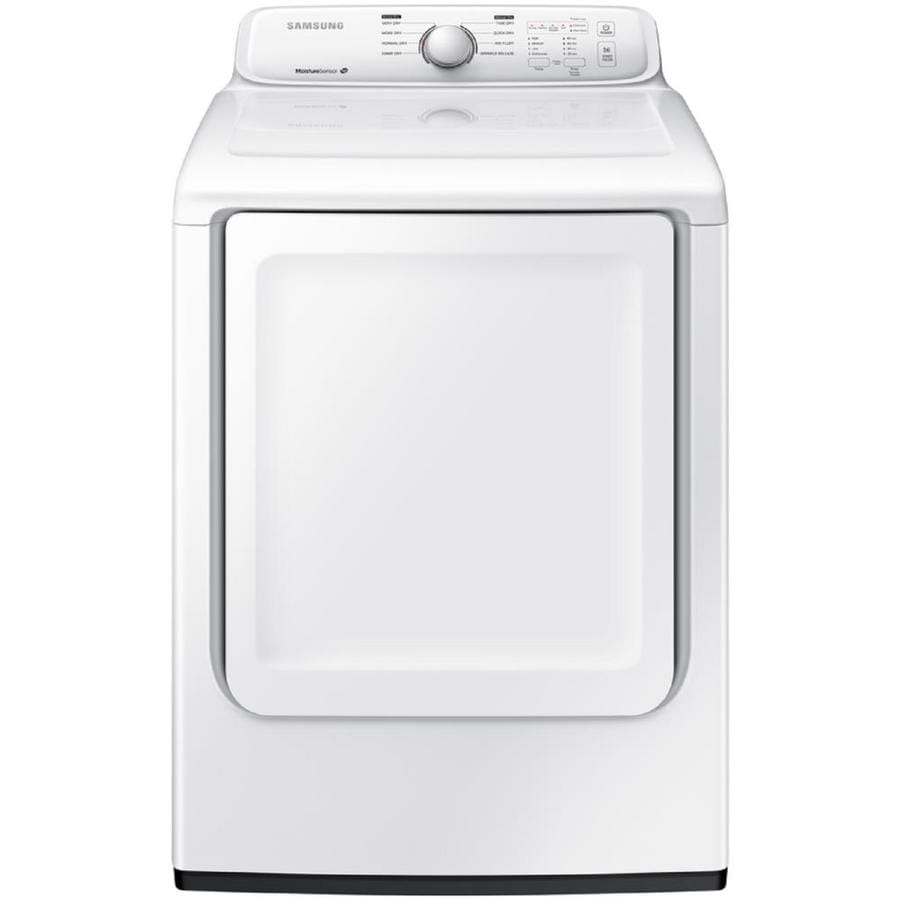 Samsung 7 2 Cu Ft Electric Dryer White