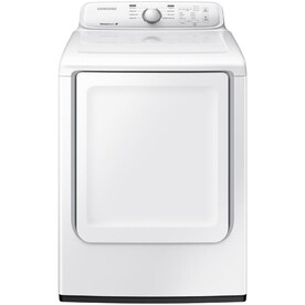 Samsung 7.2-cu ft Reversible Side Swing Door Gas Dryer (White)
