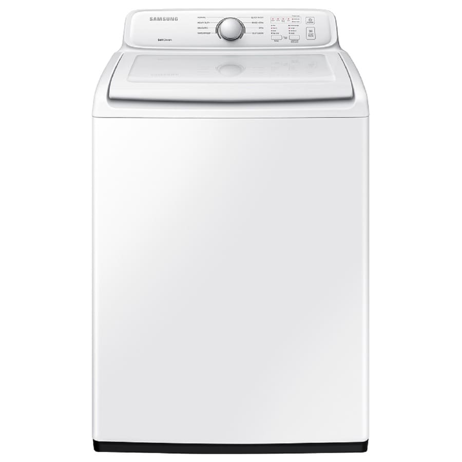 Samsung 4.0-cu ft Top-Load Washer (White)