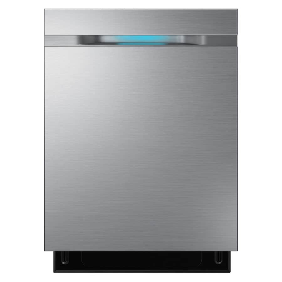 Samsung 44-Decibel Built-in Dishwasher (Stainless Steel) (Common: 24-in; Actual: 24-in) ENERGY STAR