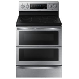 Samsung NE59J7850WS - Range - freestanding - width: 29.9 in - depth: 26 in - height: 47.1 in - with self-cleaning - stainless steel