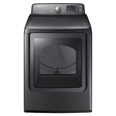 Samsung 7 4-cu ft Electric Dryer (Platinum) ENERGY STAR at