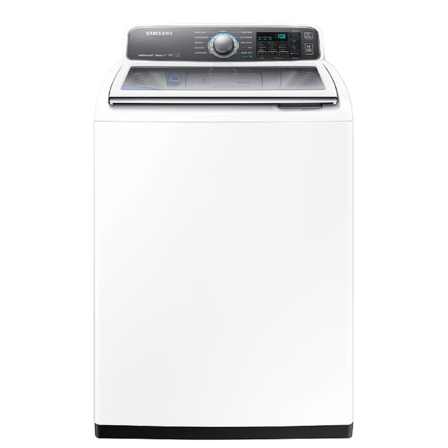 Samsung Activewash with Built In Sink 4.8-cu ft High-Efficiency Top-Load Washer (White) ENERGY STAR