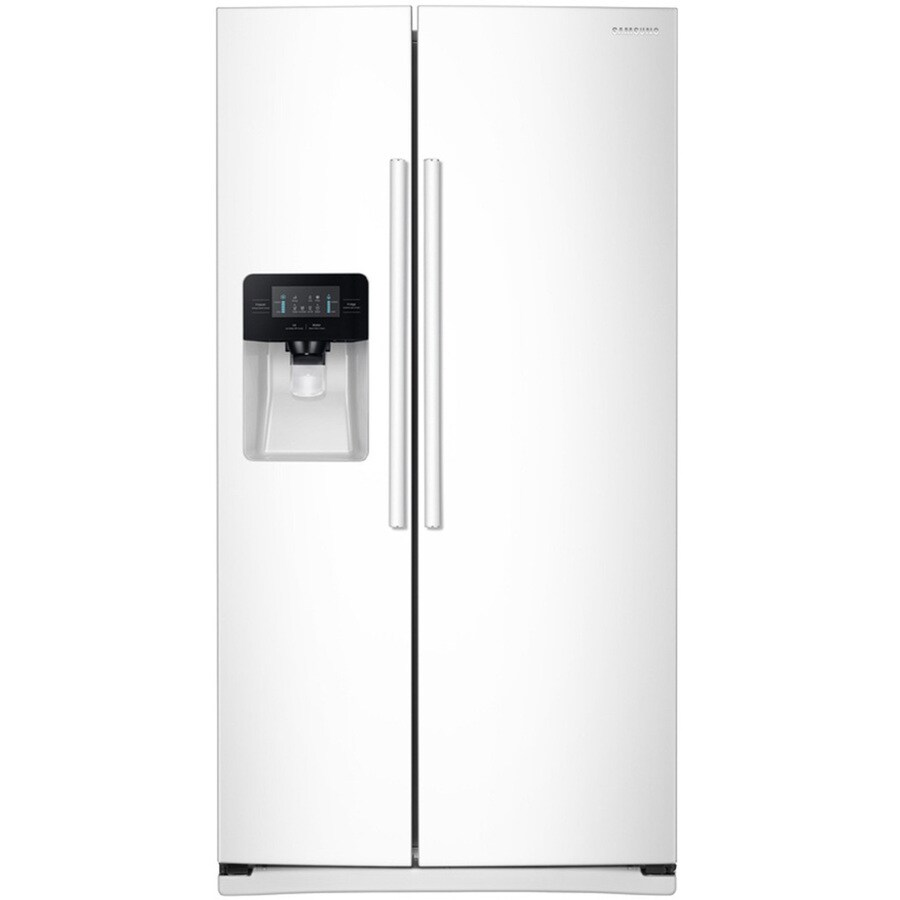 shop samsung ft side by side refrigerator with. Black Bedroom Furniture Sets. Home Design Ideas
