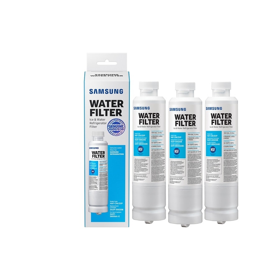 Samsung 3-Pack 6-Month Refrigerator Water Filter