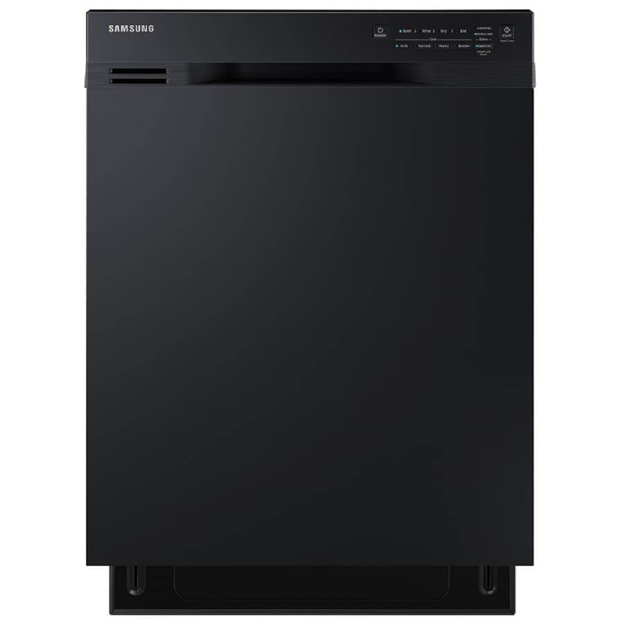Samsung 50-Decibel Built-in Dishwasher with Hard Food Disposer (Black) (Common: 24-in; Actual: 23.75-in) ENERGY STAR