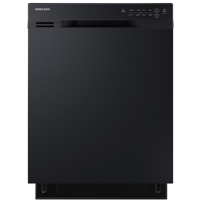 Samsung 50 Decibel Front Control 24 In Built In Dishwasher Black Energy Star In The Built In Dishwashers Department At Lowes Com