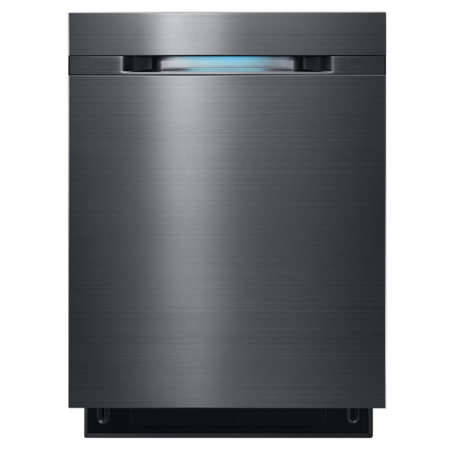 black and stainless kitchen samsung  decibel built in dishwasher black stainless steel common