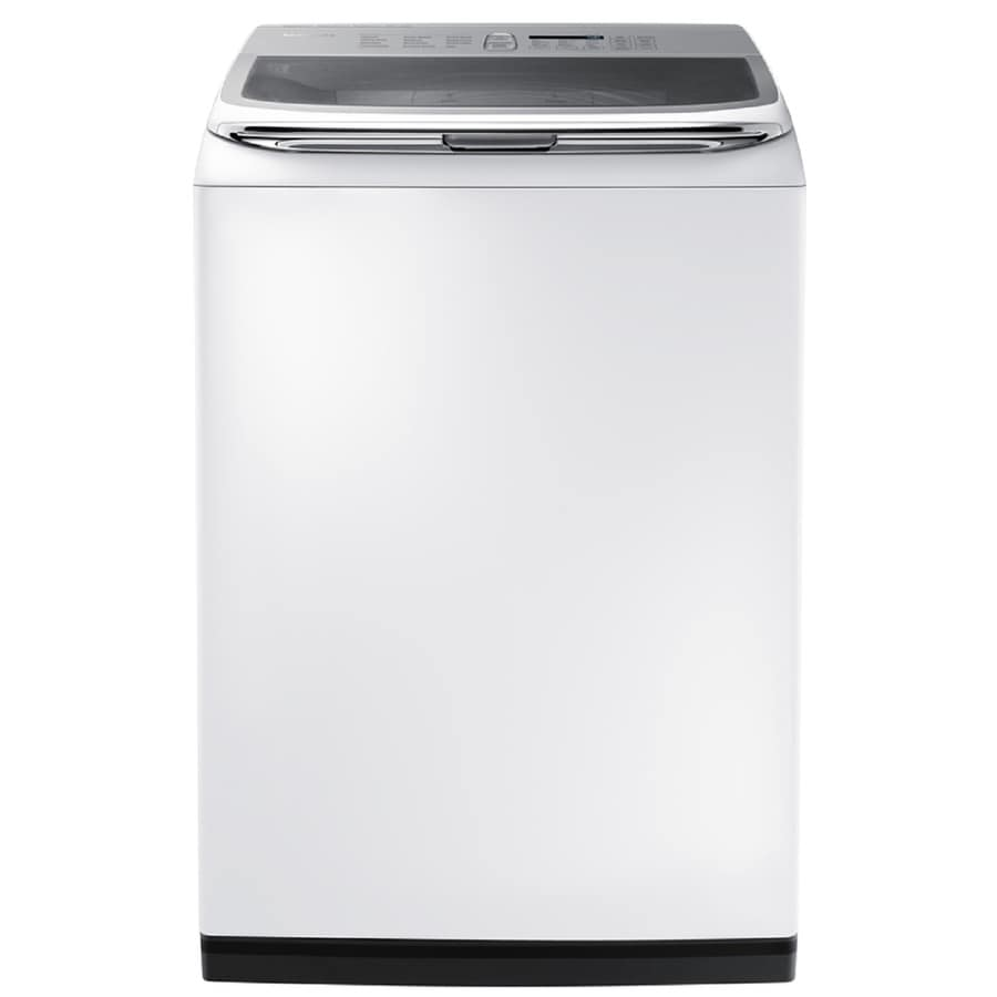 Samsung Activewash 5.0-cu ft High-Efficiency Top-Load Washer (White) ENERGY STAR
