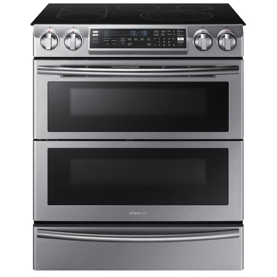 Samsung 30 In Smooth Surface 5 Element 3 Cu Ft 2 4
