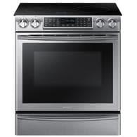 Lowes.com deals on Samsung NE58K9560WS Virtual Flame 5.8-cu ft Induction Range