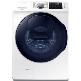 Samsung AddWash 4.5-cu ft High-Efficiency Stackable Front-Load Washer (White) ENERGY STAR