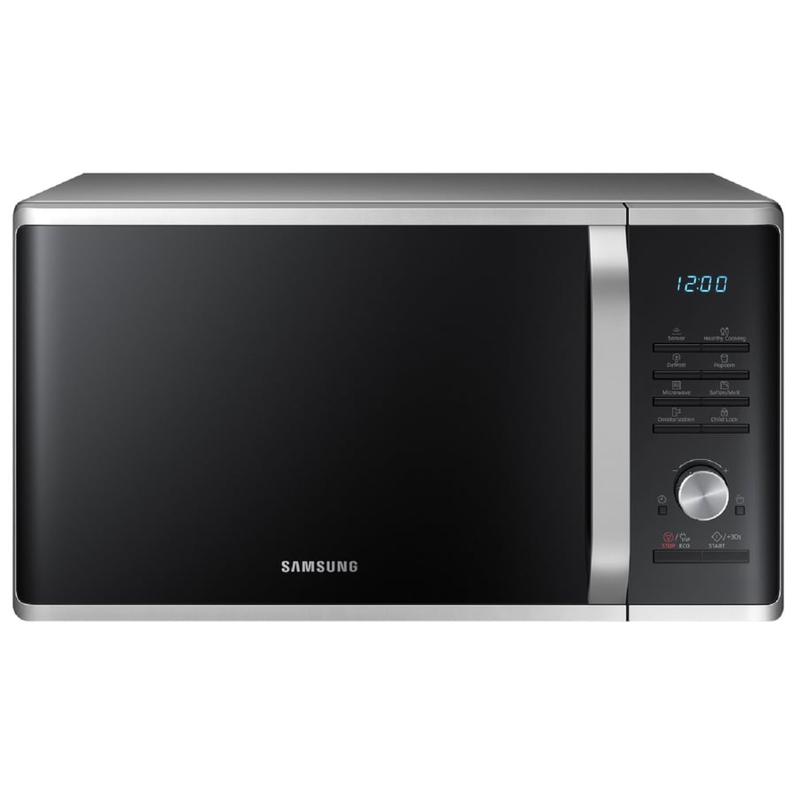 Samsung 1.1-cu ft 1000-Watt Countertop Microwave (Silver Sand)