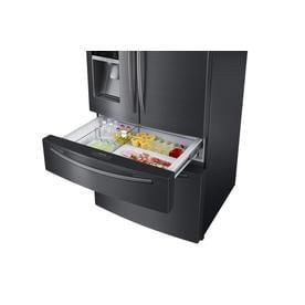 Samsung 24 73 Cu Ft 4 Door French Door Refrigerator With