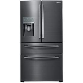 Samsung Appliance RF28JBEDBSG 36u0022 Energy Star Rated Food Showcase French Door Refrigerator in Black Stainless Steel