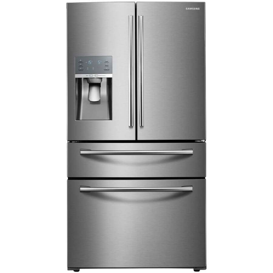Samsung Food Showcase 27 8 Cu Ft 4 Door French Refrigerator With Ice Maker