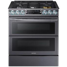 shop double oven gas ranges at. Black Bedroom Furniture Sets. Home Design Ideas