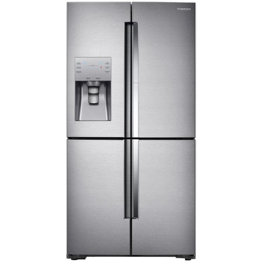Shop Samsung 4 Door Flex With Food Showcase 221 Cu Ft 4 Door