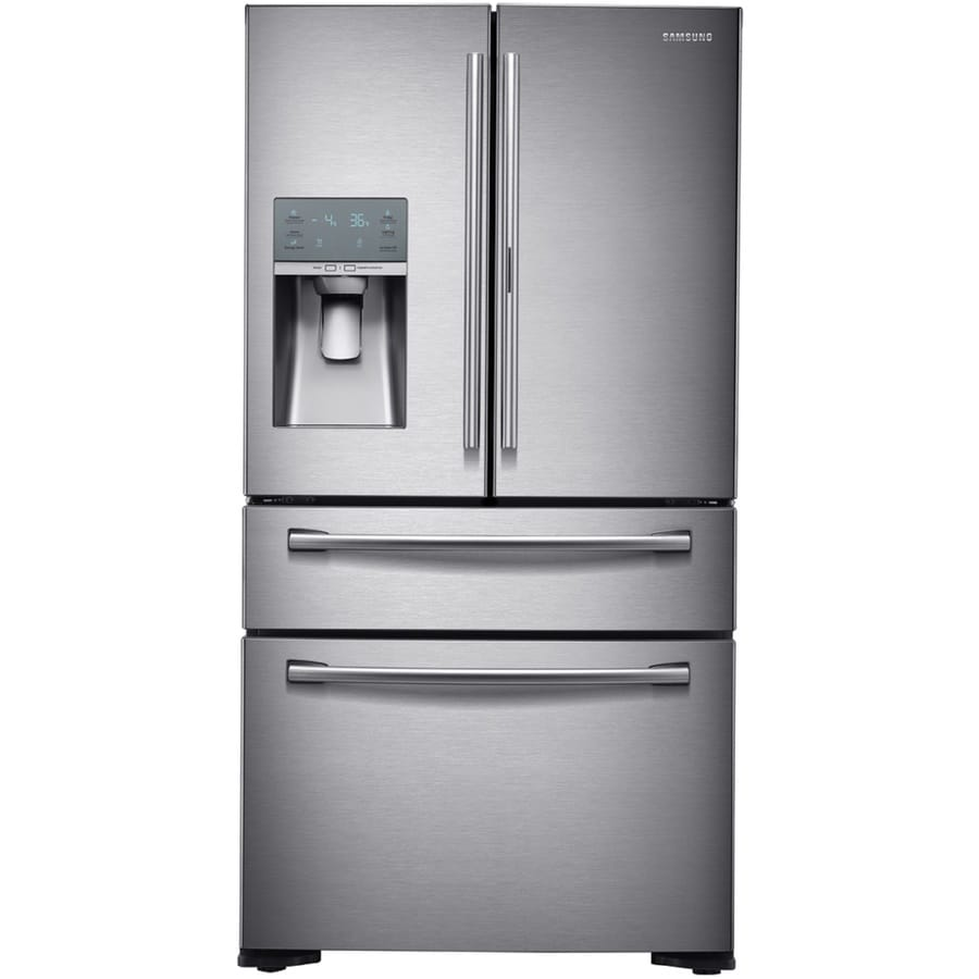 Samsung Food Showcase 22.4 Cu Ft 4 Door Counter Depth French Door  Refrigerator