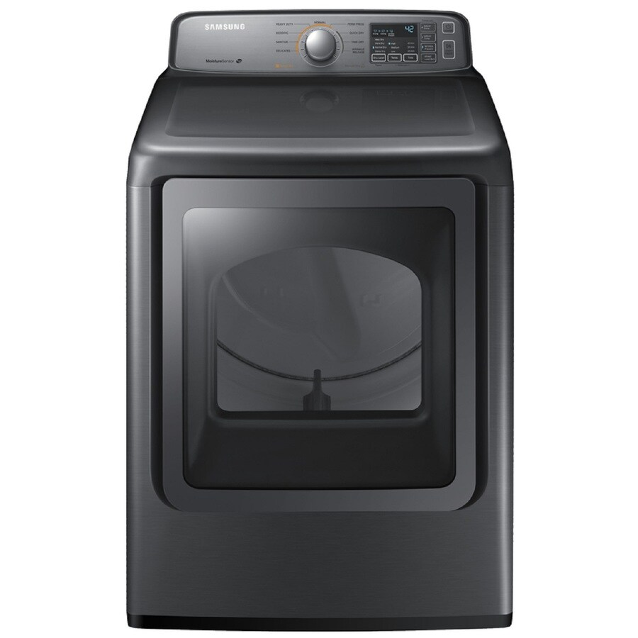 Samsung 7.4-cu ft Electric Dryer (Platinum)
