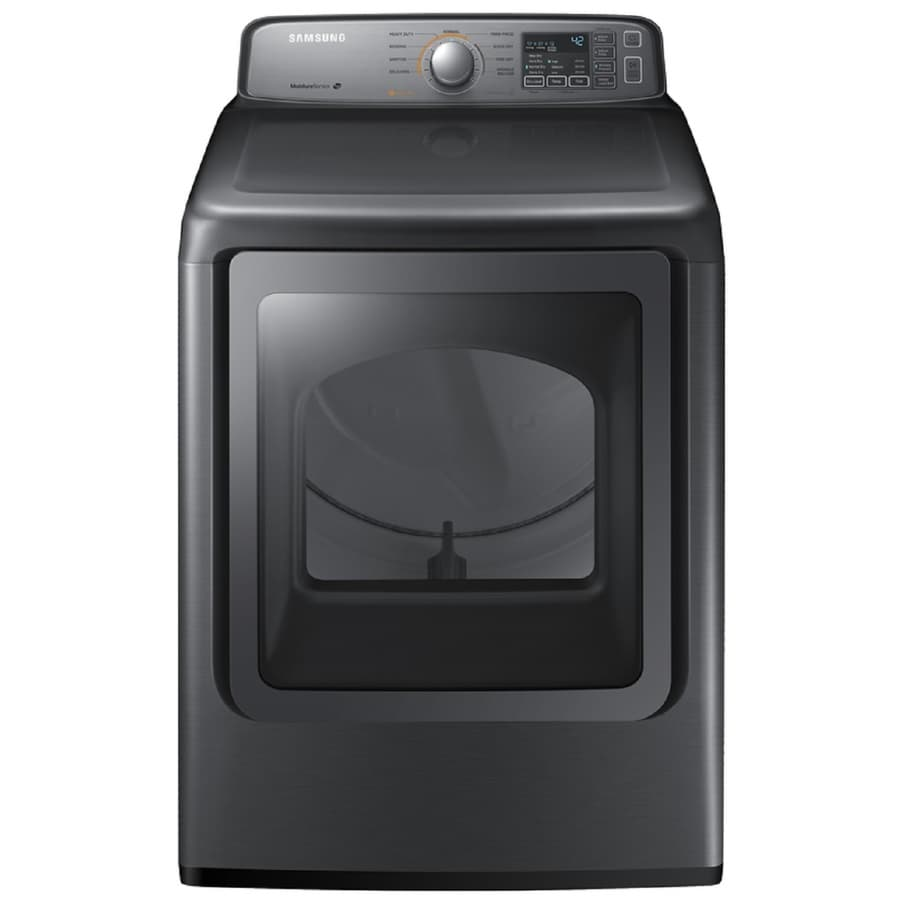 Samsung 7.4-cu ft Gas Dryer (Platinum)