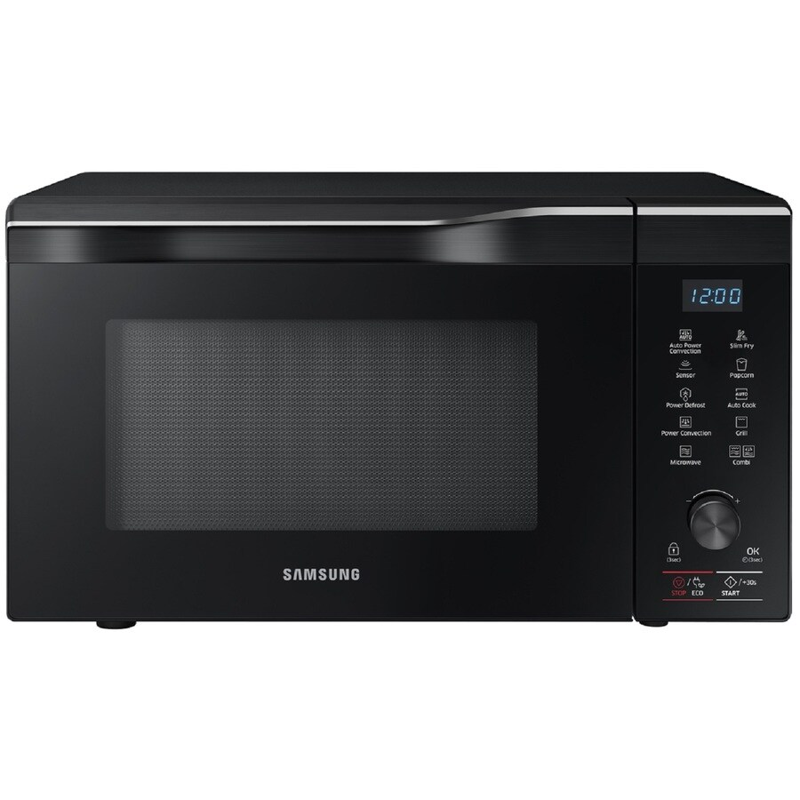 Samsung 1.1-cu ft 1700-Watt Countertop Convection Microwave (Black ...