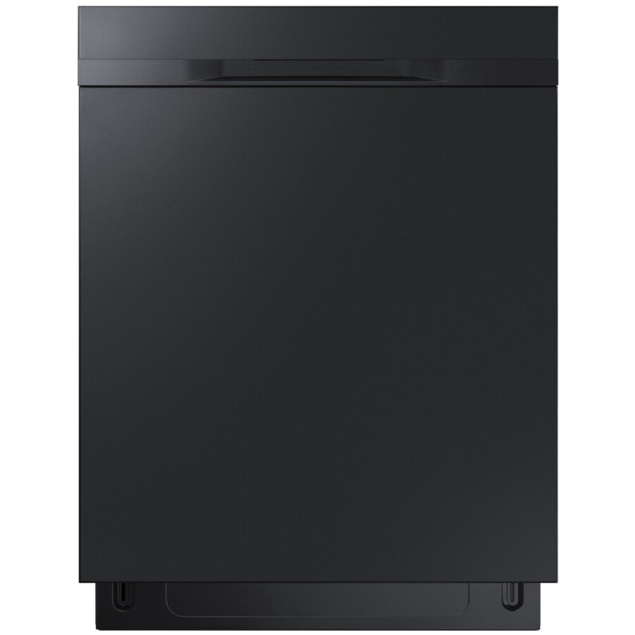 Samsung 48-Decibel Built-In Dishwasher (Black) (Common: 24-in; Actual: 23.875-in) ENERGY STAR