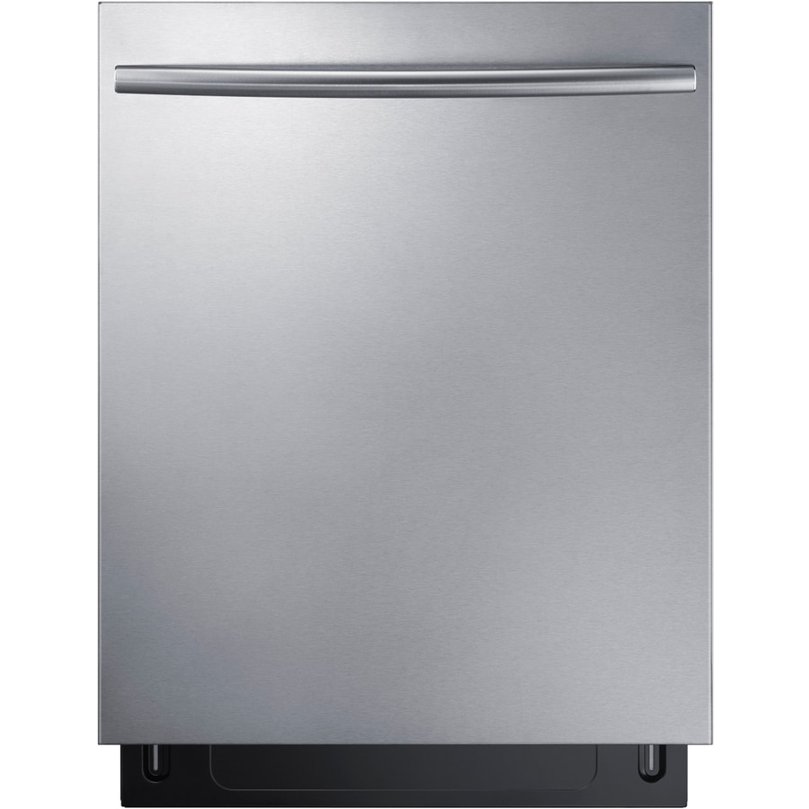 Shop Samsung StormWash 24-in Stainless Steel Top Control