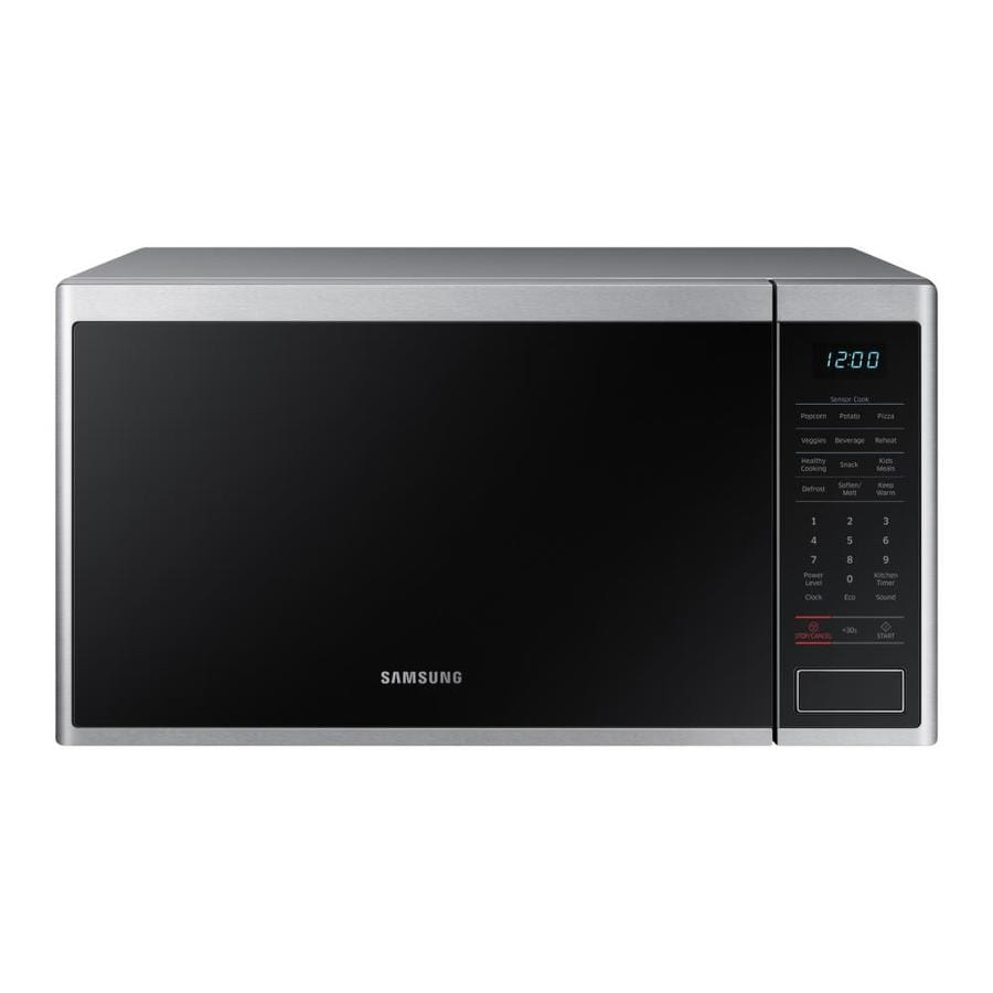 Samsung 1 4 Cu Ft 1000 Watt Countertop Microwave Stainless Steel