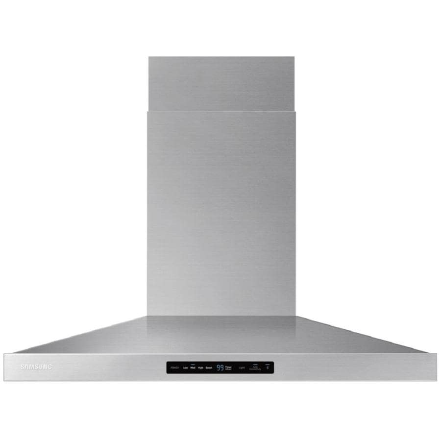 Samsung Ducted Wall-Mounted Range Hood (Stainless Steel) (Common: 30-in; Actual: 22.8889-in)
