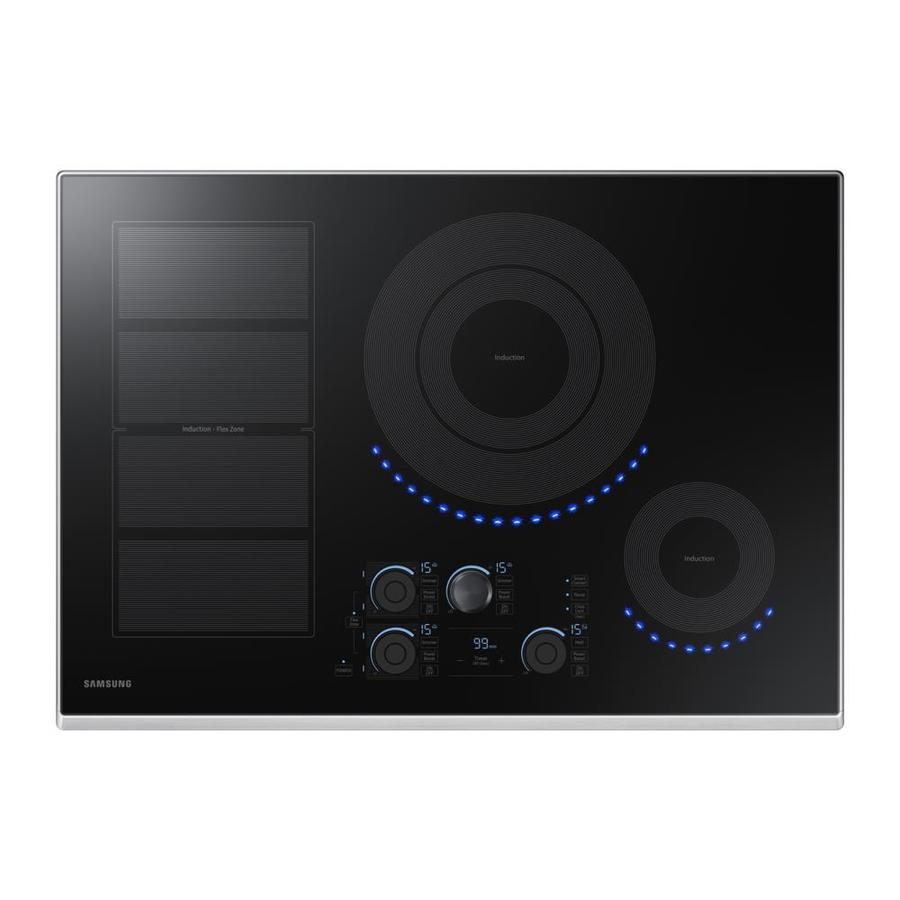 Samsung Premium Plus 5-Element Smooth Surface Induction Electric Cooktop (Stainless Steel) (Common: 30-in; Actual 30-in)