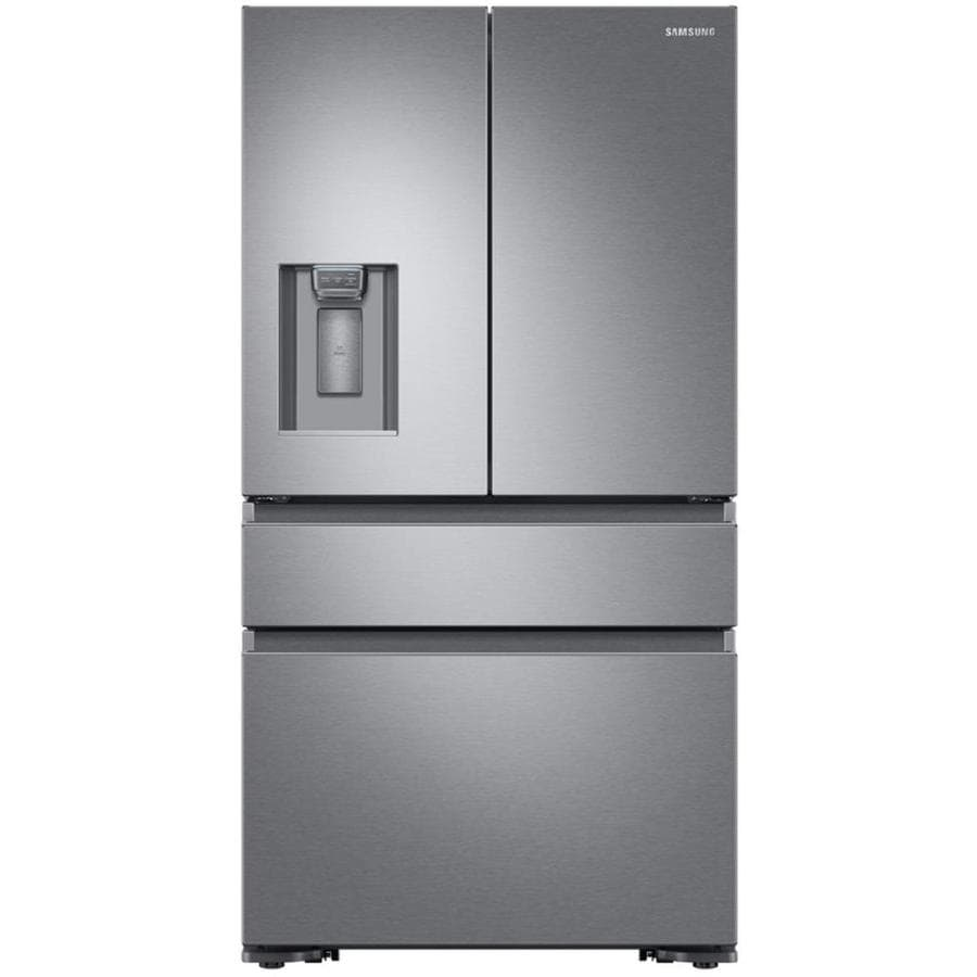 Refrigerator at lowes counter depth french door refrigerators samsung 227 cu ft 4 door counter depth french door refrigerator with ice rubansaba