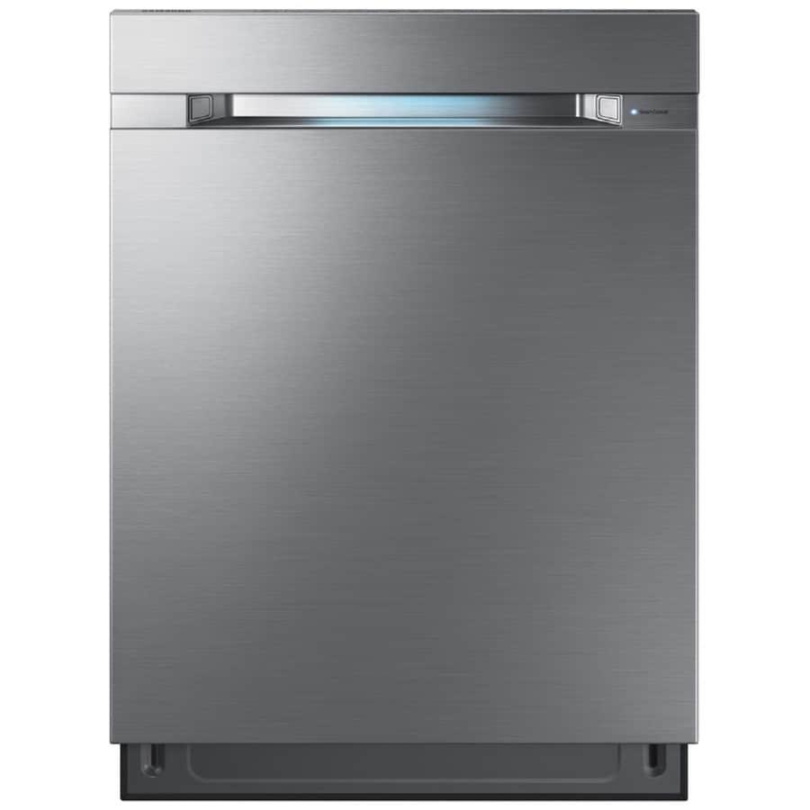 Shop Samsung 55 Decibel Built In Dishwasher Stainless: Samsung Waterwall 38-Decibel Built-in Dishwasher