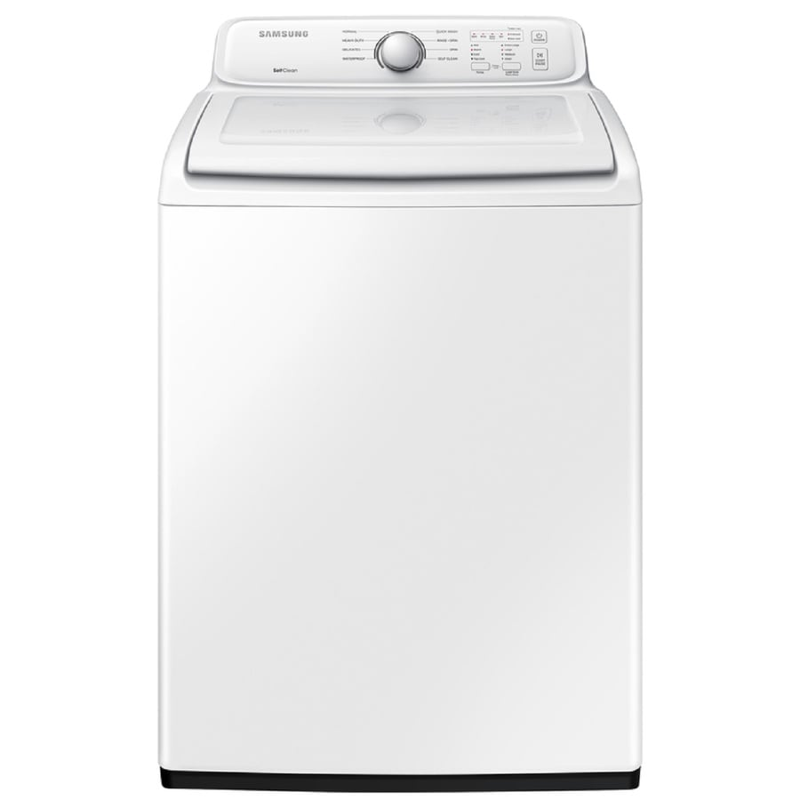 samsung washer and dryer lowes. Samsung 4.0-cu Ft Top-Load Washer (White) And Dryer Lowes R