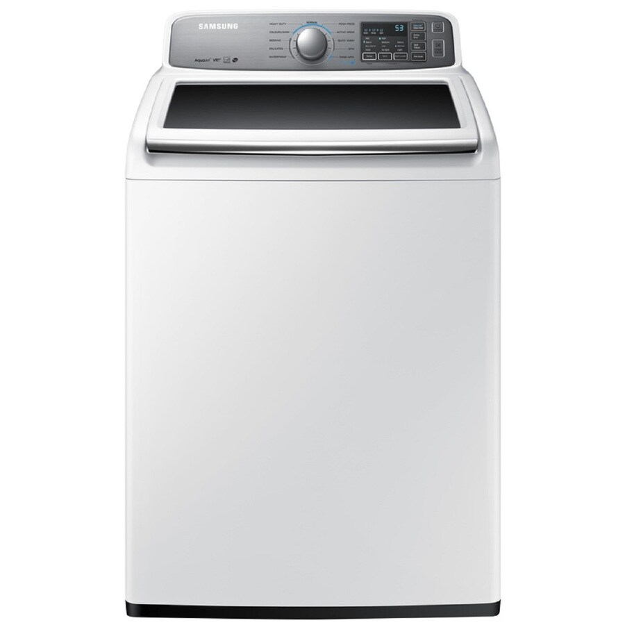 Samsung 4.8-cu ft High-Efficiency Top-Load Washer (White) ENERGY STAR