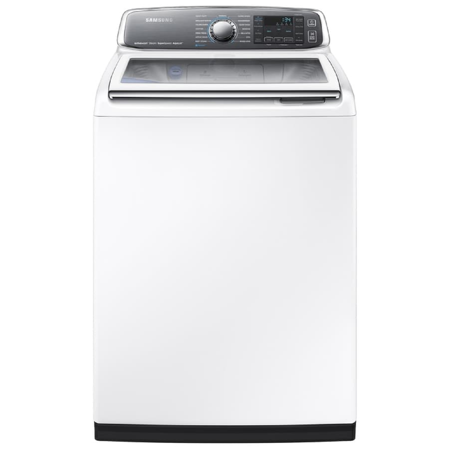Samsung 5.2-cu ft High-Efficiency Top-Load Washer (White) ENERGY STAR