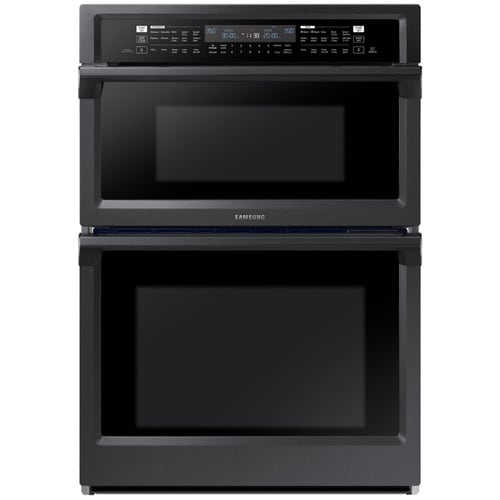 Samsung Self-cleaning Convection Microwave Wall Oven Combo ...