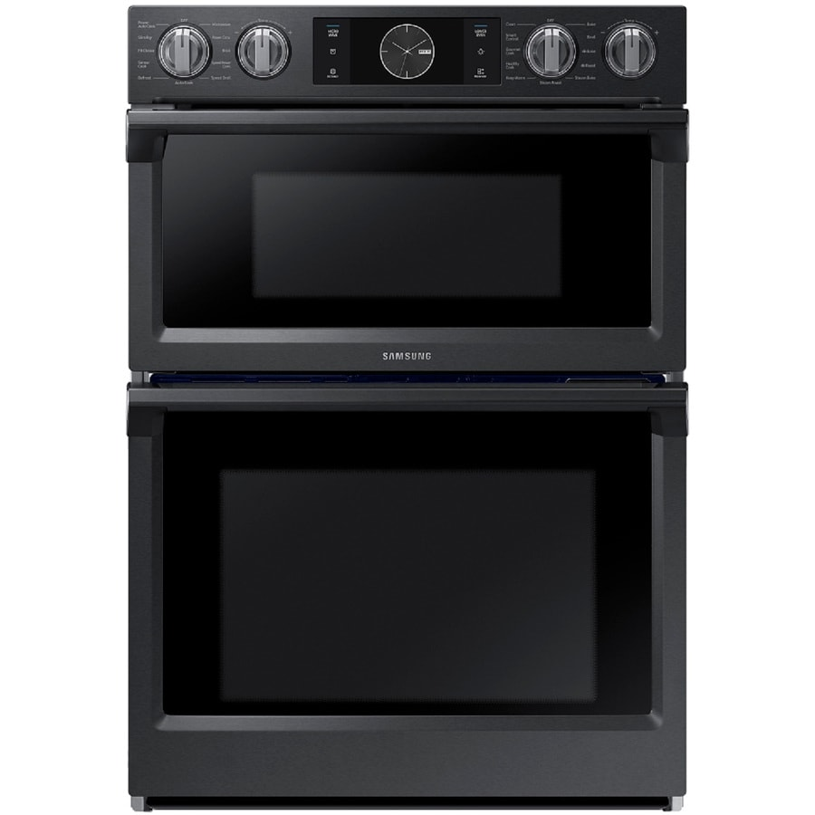 Samsung Self Cleaning Convection Microwave Wall Oven Combo Common 30 In