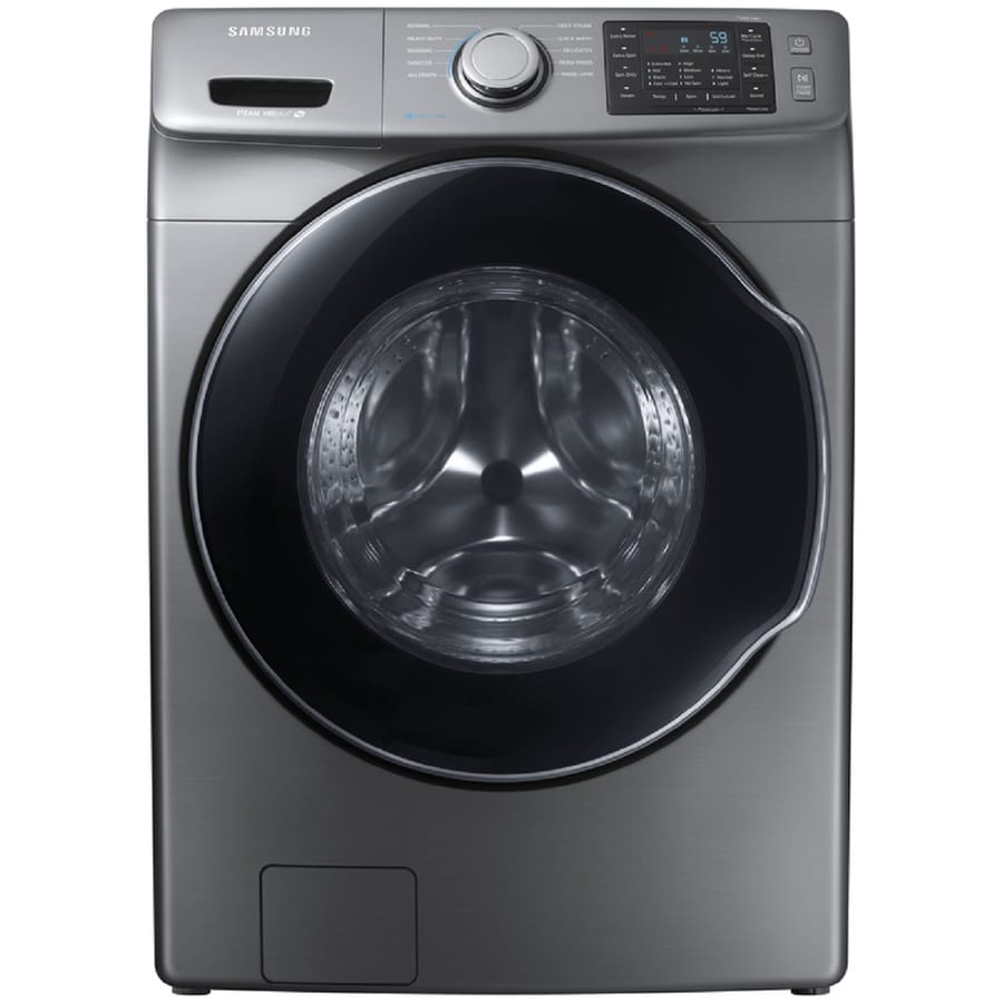 Samsung 4.5-cu ft High-Efficiency Stackable Front-Load Washer (Platinum) ENERGY STAR