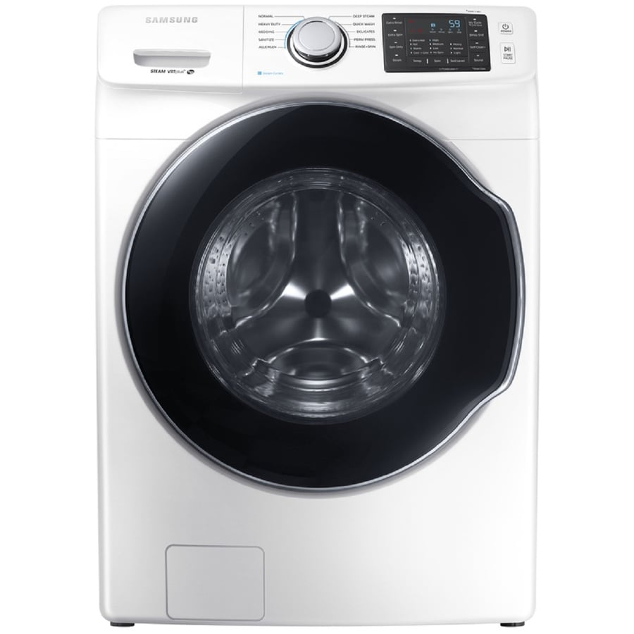 Samsung 4.5-cu ft High-Efficiency Stackable Front-Load Washer (White) ENERGY STAR