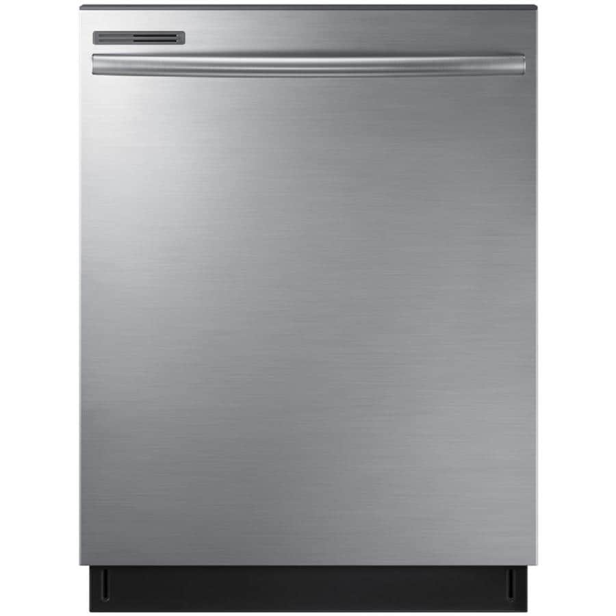 Shop Samsung 55-Decibel Built-In Dishwasher (Stainless