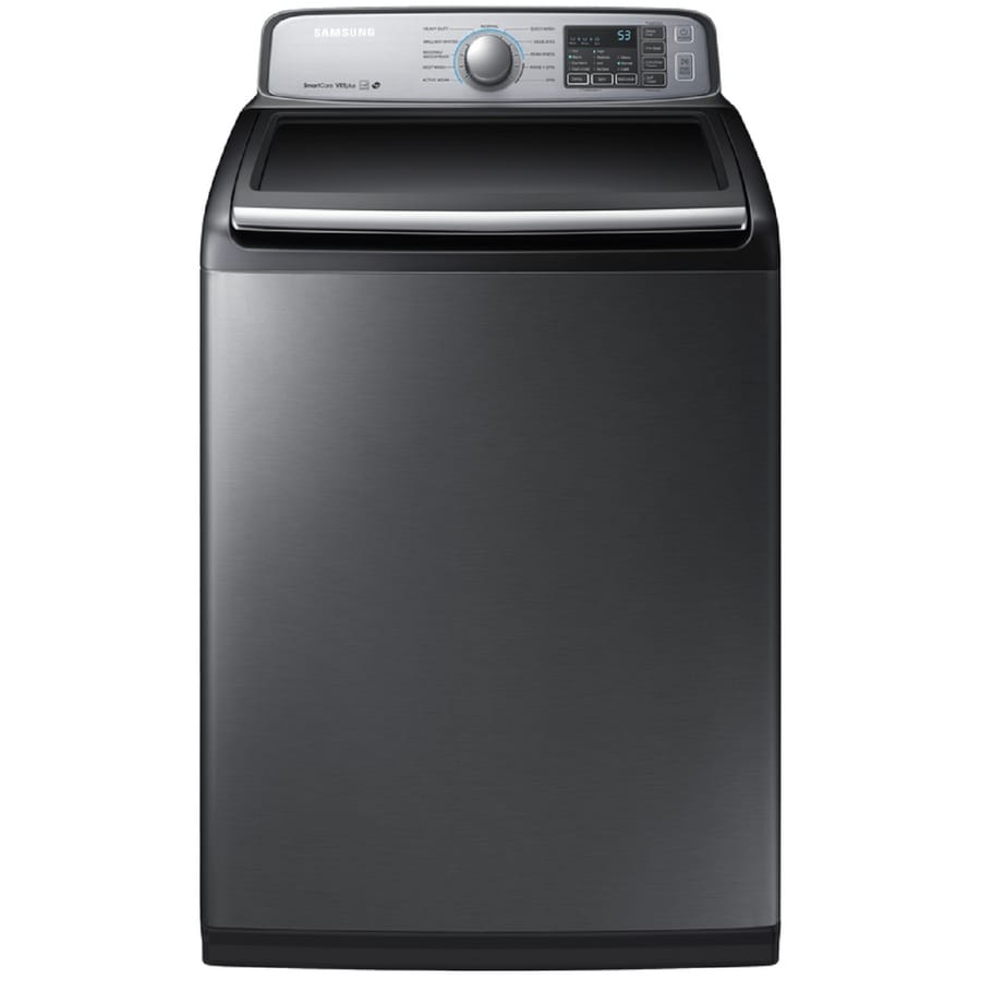 The best top load washer on the market - Samsung 5 0 Cu Ft High Efficiency Top Load Washer Platinum Energy