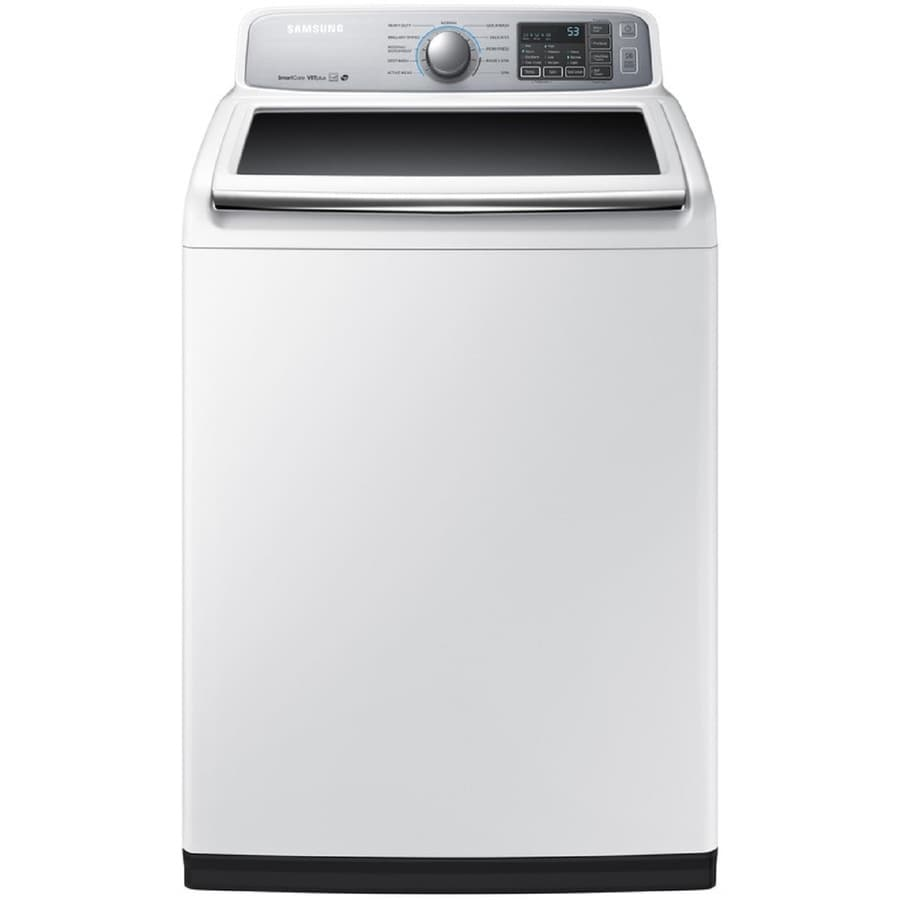The best top load washer with agitator - Samsung 5 0 Cu Ft High Efficiency Top Load Washer White Energy