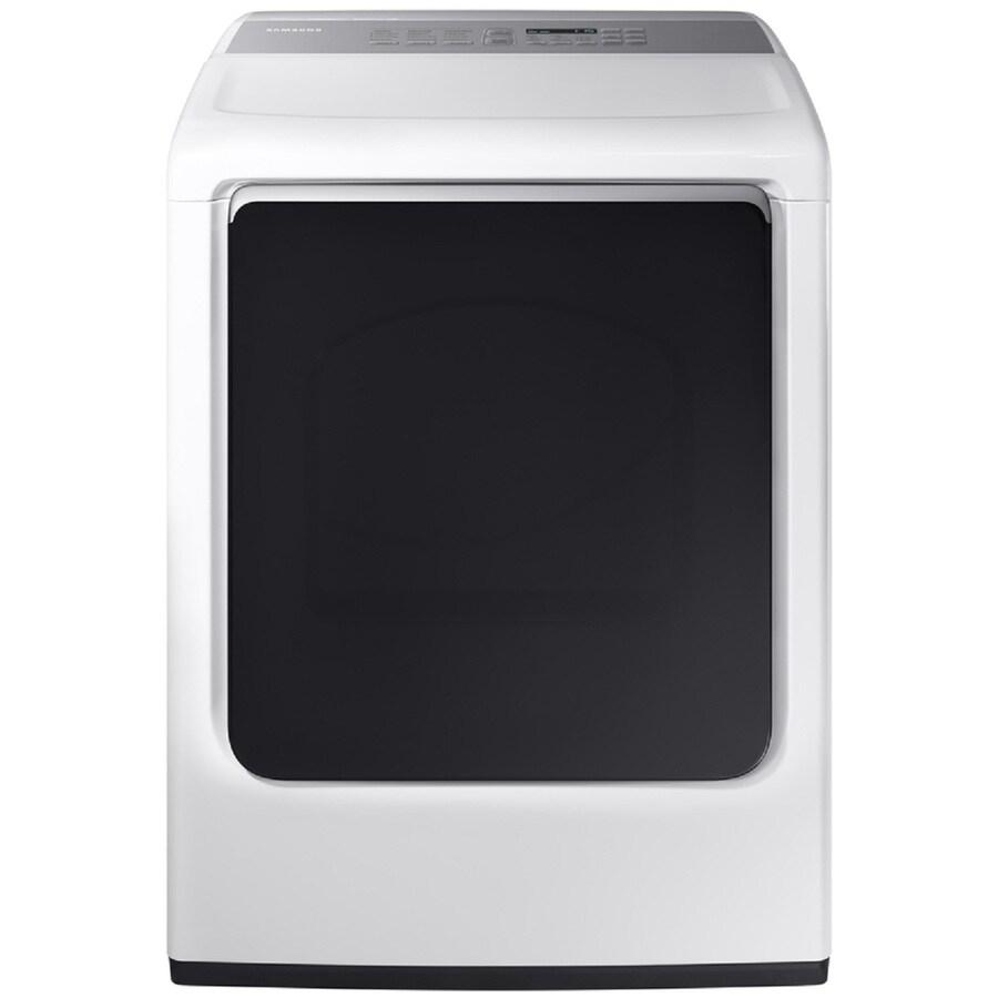 Samsung 7.4-cu ft Gas Dryer (White) ENERGY STAR